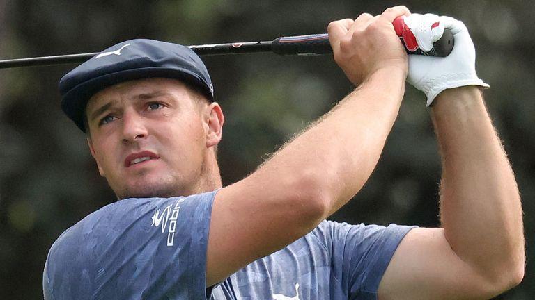 DeChambeau played alongside veteran Bernhard Langer on the final day at Augusta National