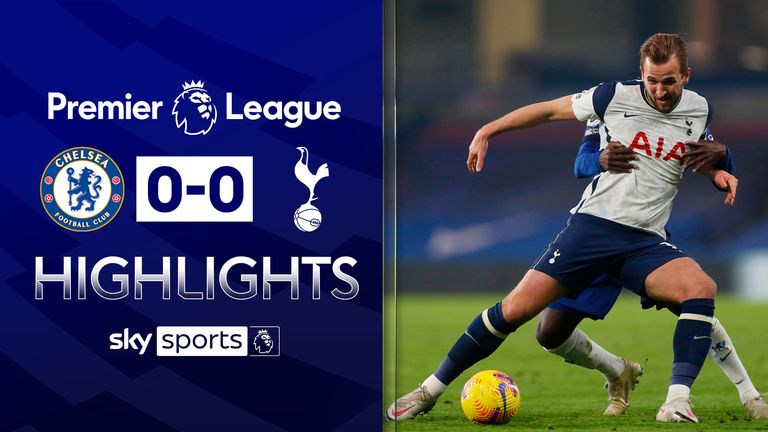 FREE TO WATCH: Highlights from Chelsea's draw with Tottenham