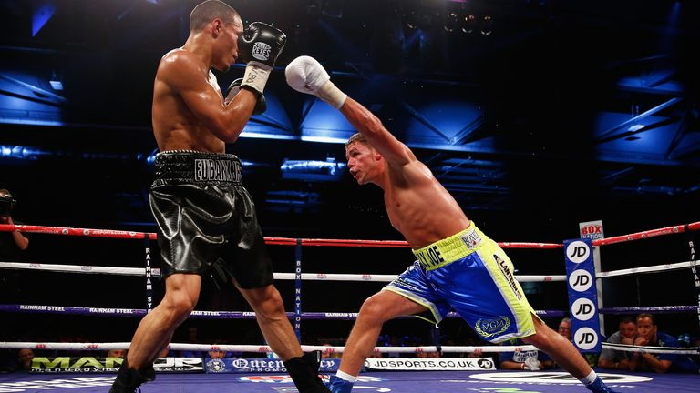 Eubank Jr and Saunders have always been linked to a rematch