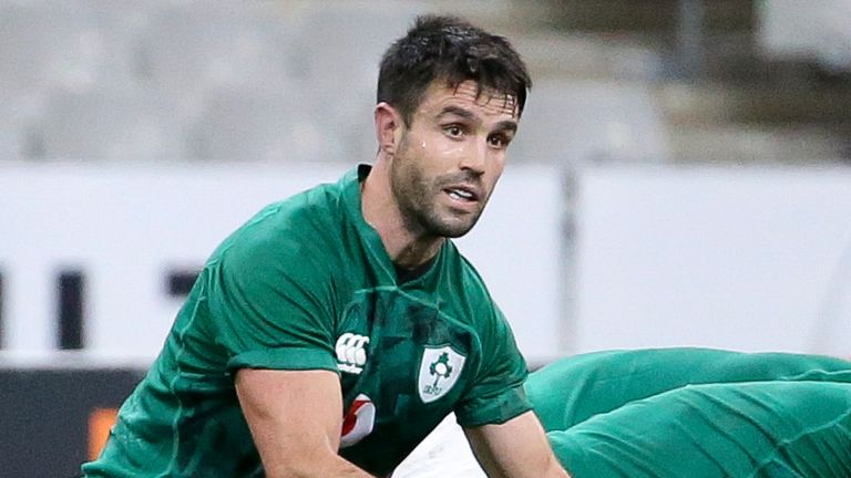 Conor Murray came off the bench in Ireland's victory over Wales in Dublin