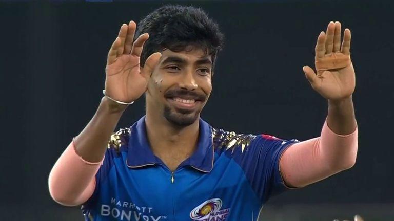 India fast bowler Jasprit Bumrah plays for defending champions Mumbai Indians