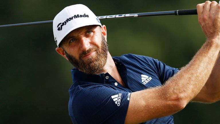Dustin Johnson came close to victory