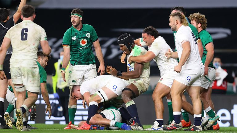 Time and again, England repelled Ireland attacks with crucial breakdown steals