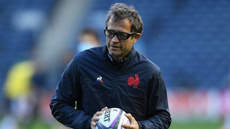 France's head coach Fabien Galthie