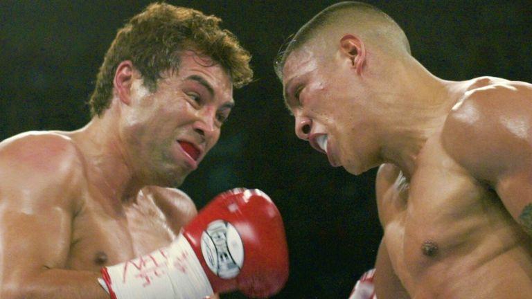 Fernando Vargas shared a fierce rivalry with Oscar De La Hoya