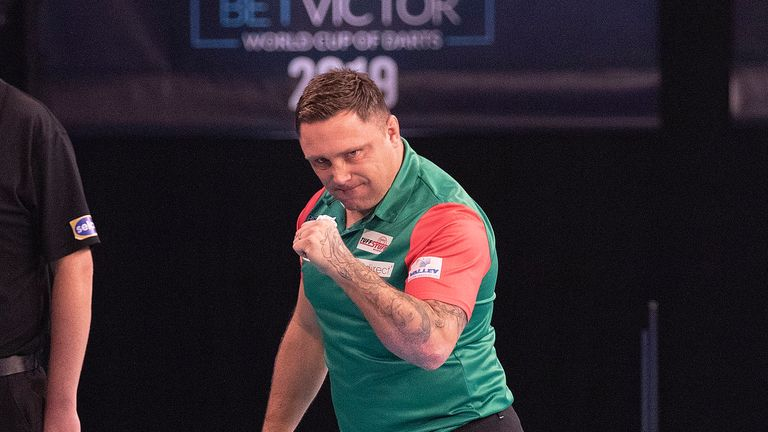 Gerwyn Price is aiming to spearhead Wales to a first World Cup title