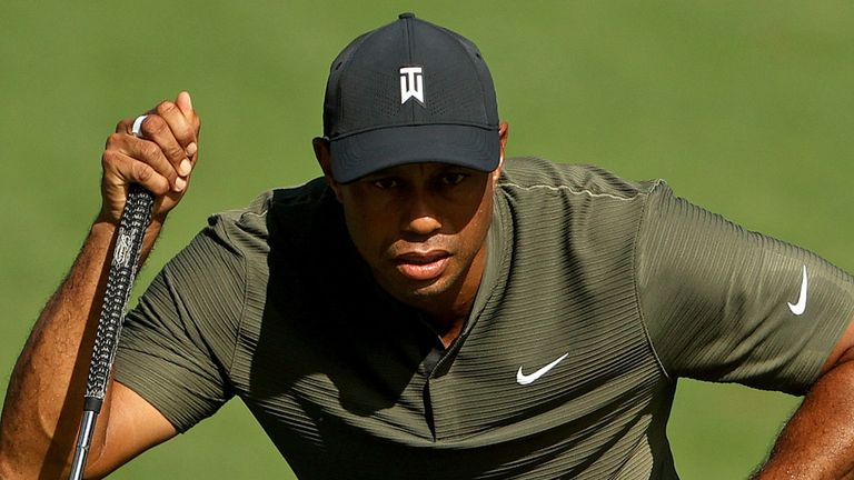 Defending champion Tiger Woods started with a bogey-free 68