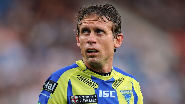 Brett Hodgson spent three years with Warrington Wolves after moving from Huddersfield