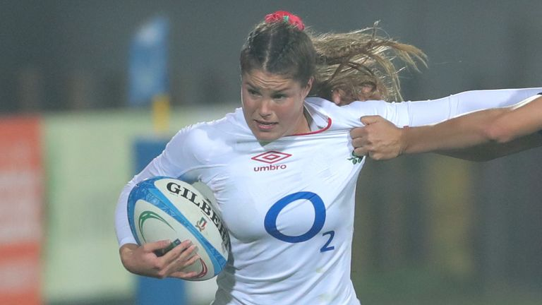 Jess Breach was among the try-scorers as the Red Roses won well in France