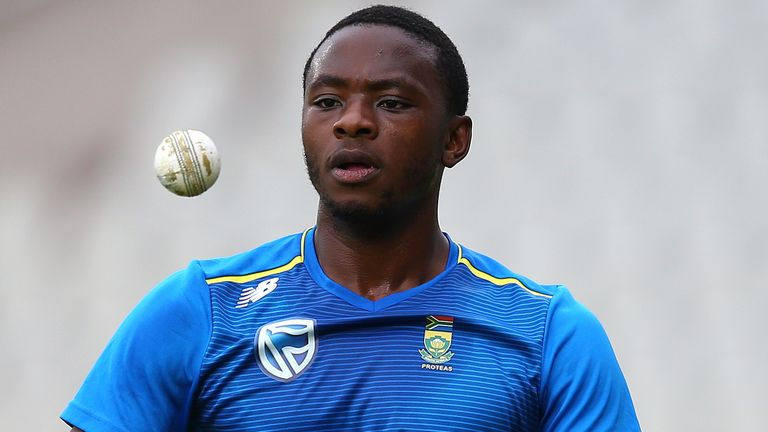 Rabada says he does not currently feel that he needs to take a knee