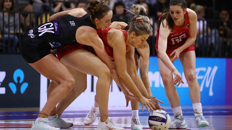 Silver Ferns didn't have everything in their own way during the series