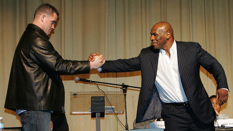 McBride was hypnotised before fighting Tyson