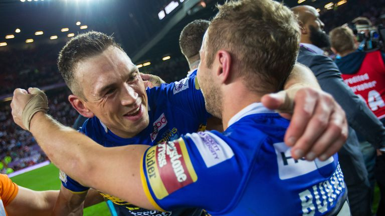 Sinfield and Burrow spent 14 years of their professional careers competing alongside each other for Leeds