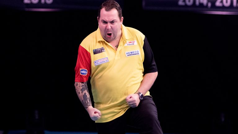 Kim Huybrechts was at his best for Belgium as they qualified for the last four in Salzburg