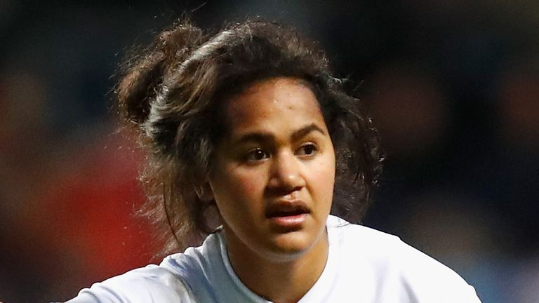 Harlequins centre Lagi Tuima returns to the England Women side for the visit of France