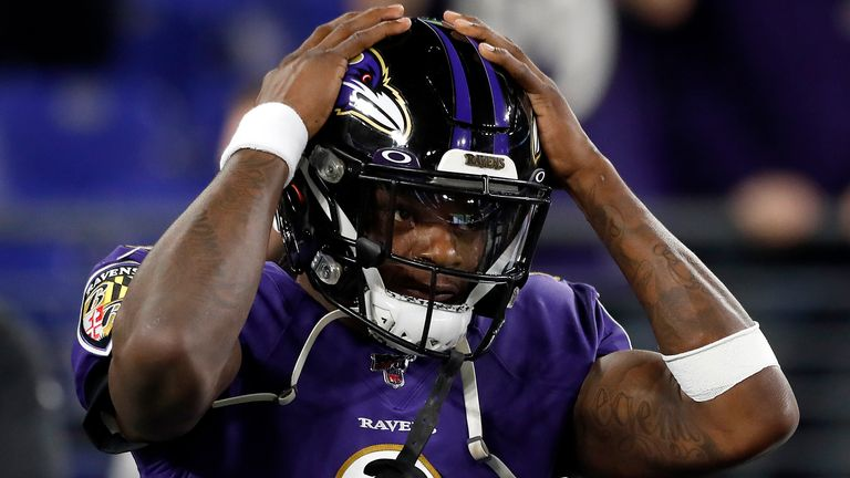 Lamar Jackson and the Ravens fell to Tennessee in the playoffs last seaso despite being heavy favourites