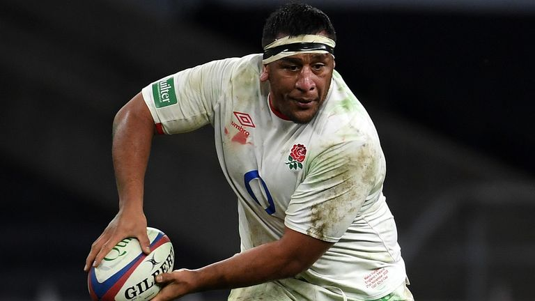Mako Vunipola is out of England's Autumn Nations Cup final with an Achilles injury