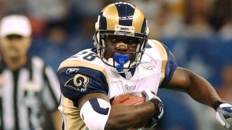 Hall of Famer Marshall Faulk is a Super Bowl champion, seven-time pro bowler and was named the NFL MVP in 2000