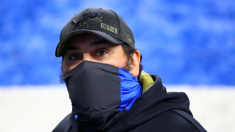 Matt Patricia has been relieved of his position as Detroit Lions head coach with immediate effect