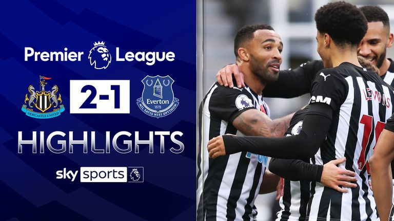 FREE TO WATCH: Highlights from Newcastle win over Everton in the Premier League