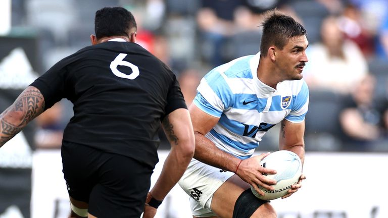 Matera led Argentina as captain as they registered an historic first victory over the All Blacks last month