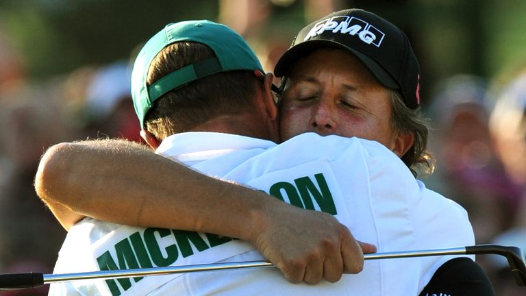 Phil Mickelson has only missed the Masters twice since his debut as an amateur in 1991