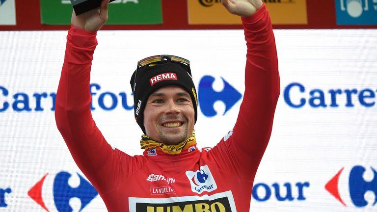 Team Jumbo's Slovenian rider Primoz Roglic retains the Vuelta a Espana