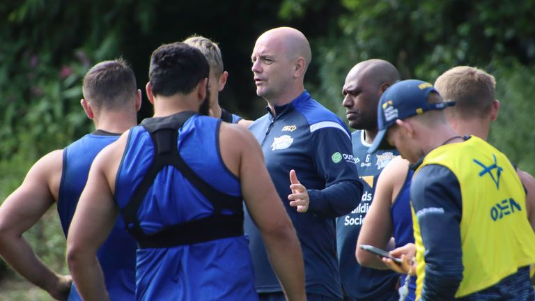 Richard Agar is happy to let his senior players do the talking pre-match on Friday