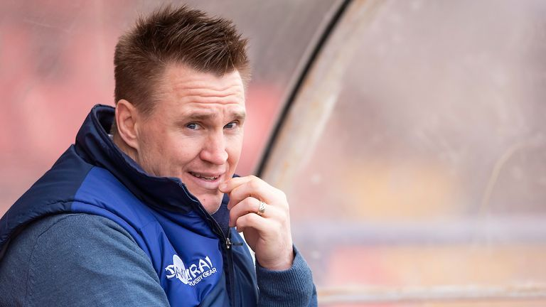 Former St Helens assistant coach Richard Marshall has landed the Salford job