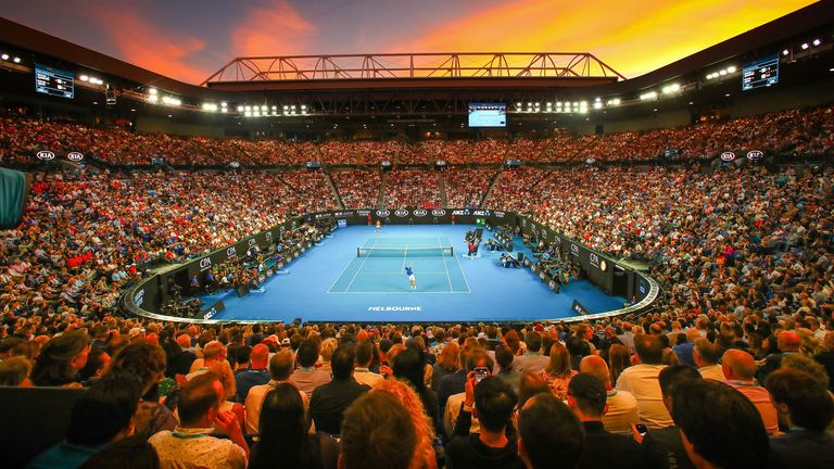 The Australian Open is scheduled to kick off in January