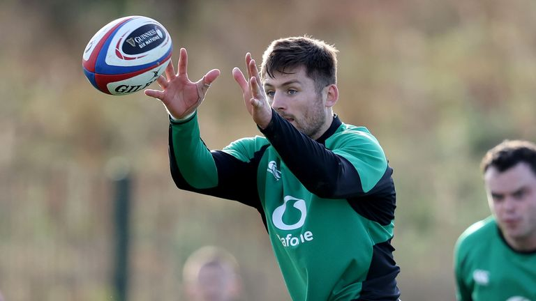Ross Byrne starts at No 10 for Ireland