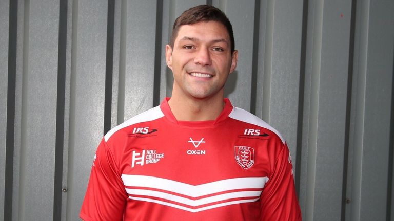 Ryan Hall has signed for Hull KR on a two-year contract