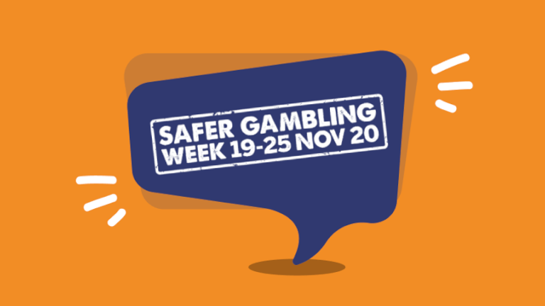 Safer Gambling Week is an industry-led campaign taking place from November 19-25 to promote safer gambling