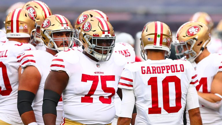 The San Francisco 49ers could be forced to play and practice elsewhere because of coronavirus restrictions