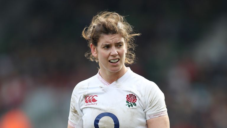 England captain Sarah Hunter says 'form goes out the window' at a World Cup