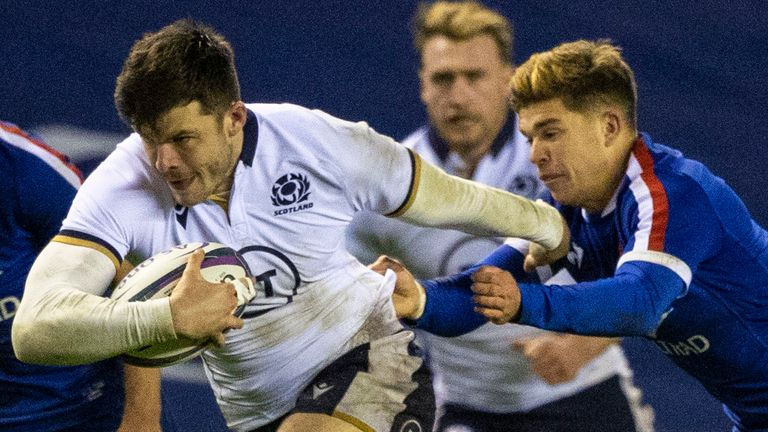 Scotland are scheduled to take on France in Paris on Sunday