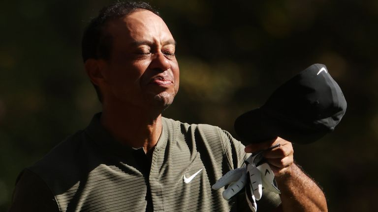 Woods was happy with all parts of his game