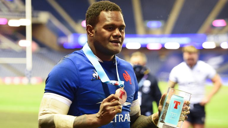 Virimi Vakatawa scored the only try as France registered a deserved Autumn Nations Cup win at Murrayfield