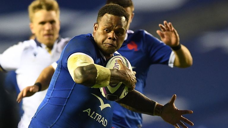 Vakataa surged for the line in a move of real quality as France finally made their presure tell