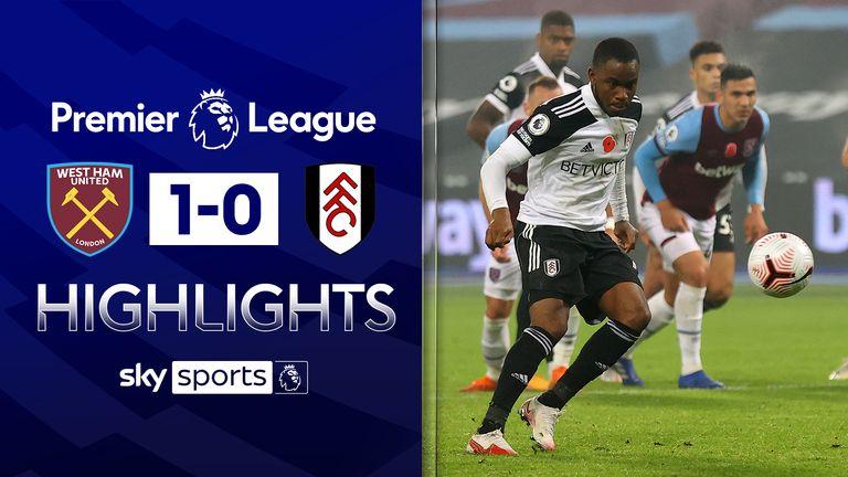 Watch highlights of West Ham's win over Fulham - including Ademola Lookman's last-gasp missed Panenka.