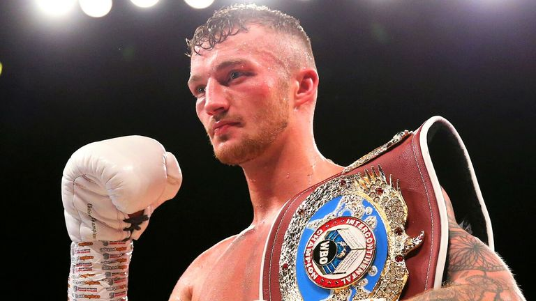 Zach Parker has lined up a shot at WBO champion Saunders