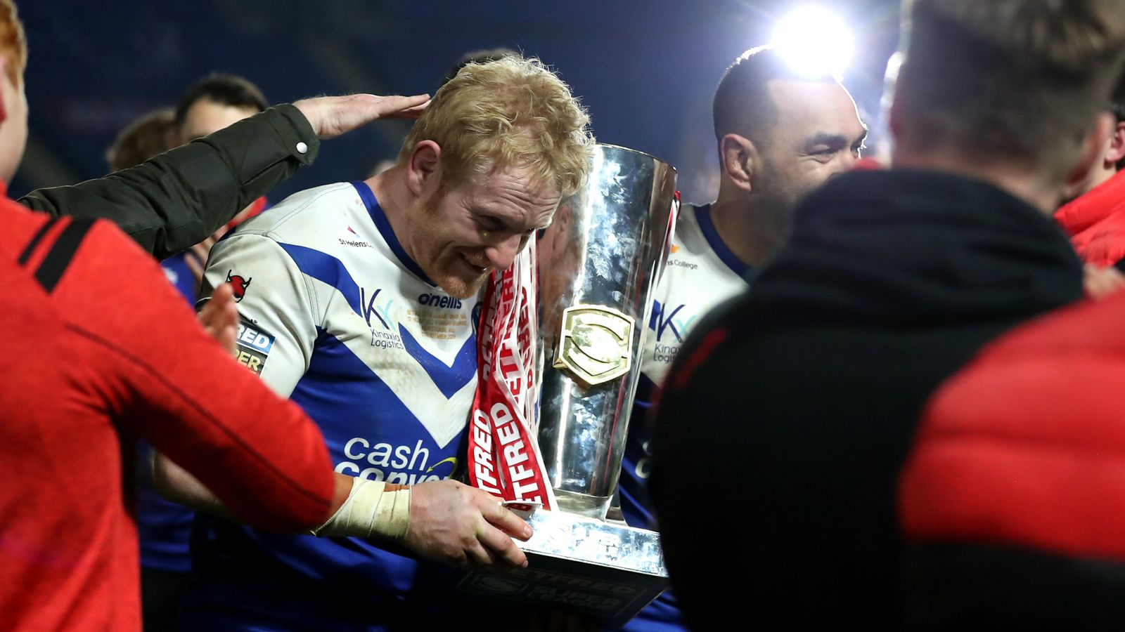 James Graham: St Helens icon goes out a Super League champion