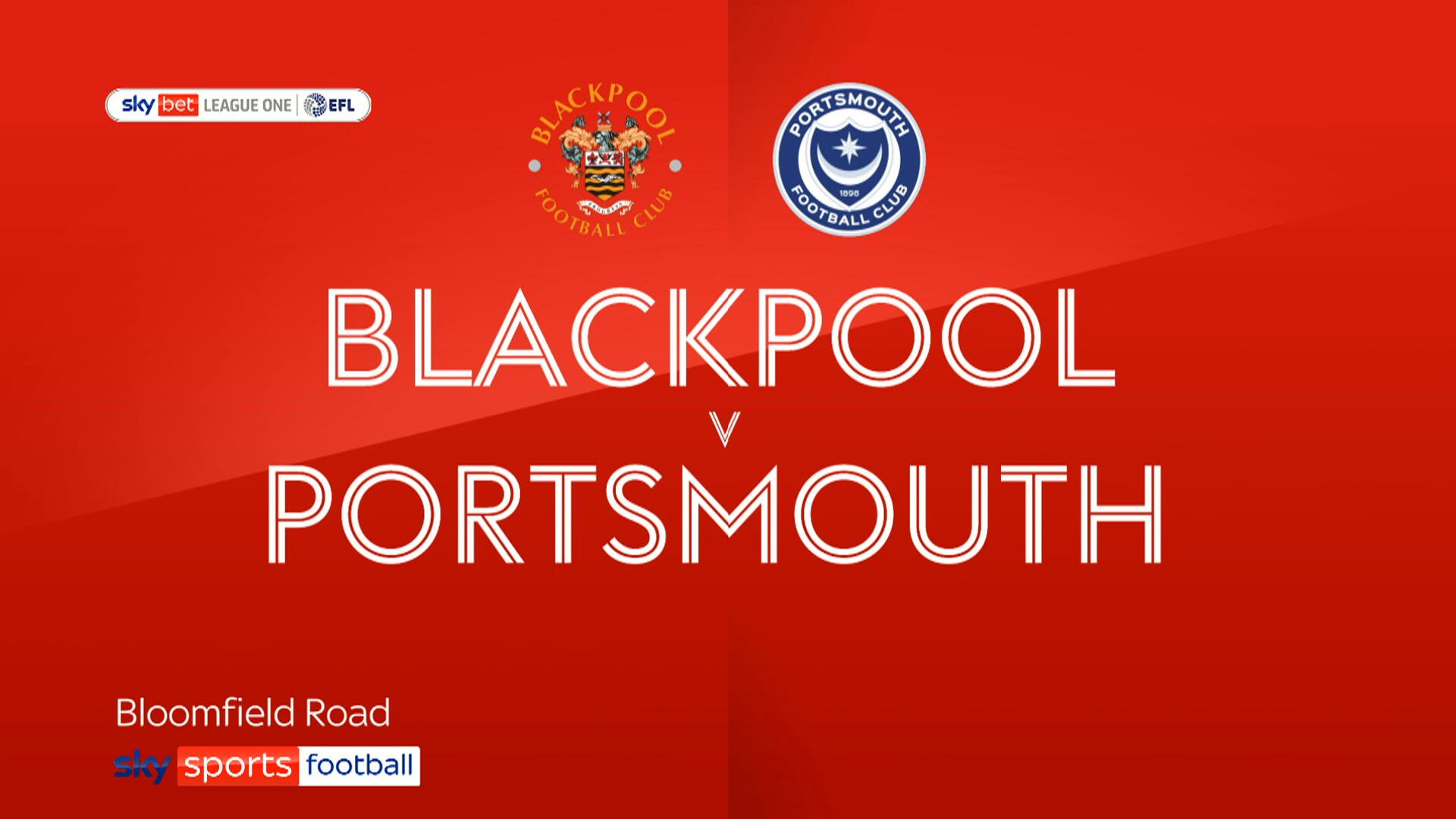 Blackpool edge past Portsmouth