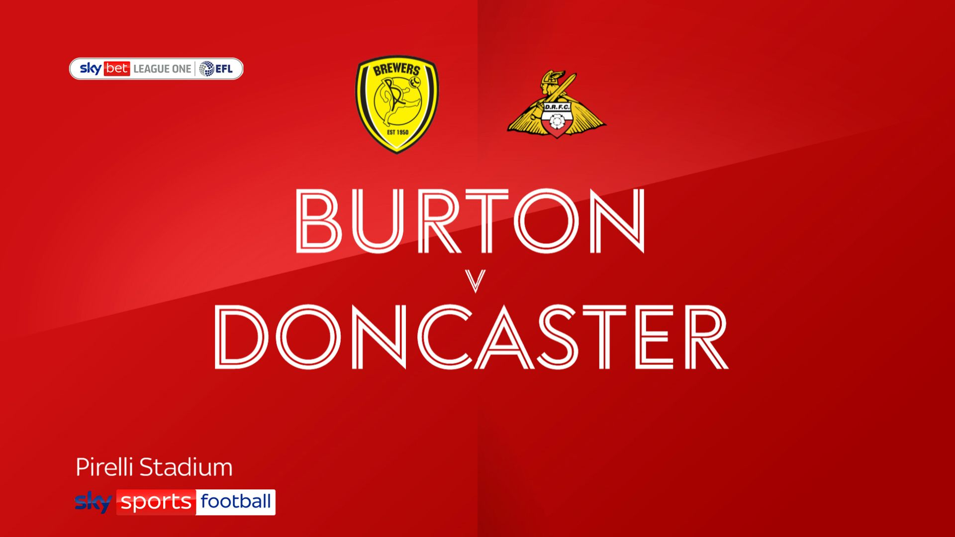 High-flying Doncaster brush off Burton