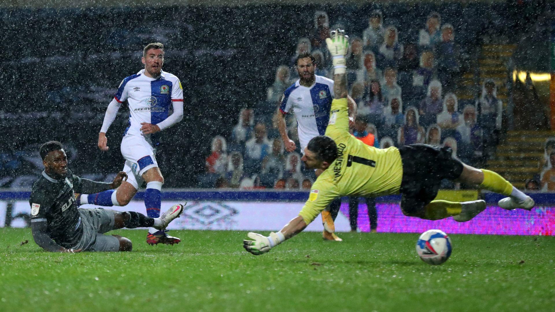 Rothwell earns point for Blackburn