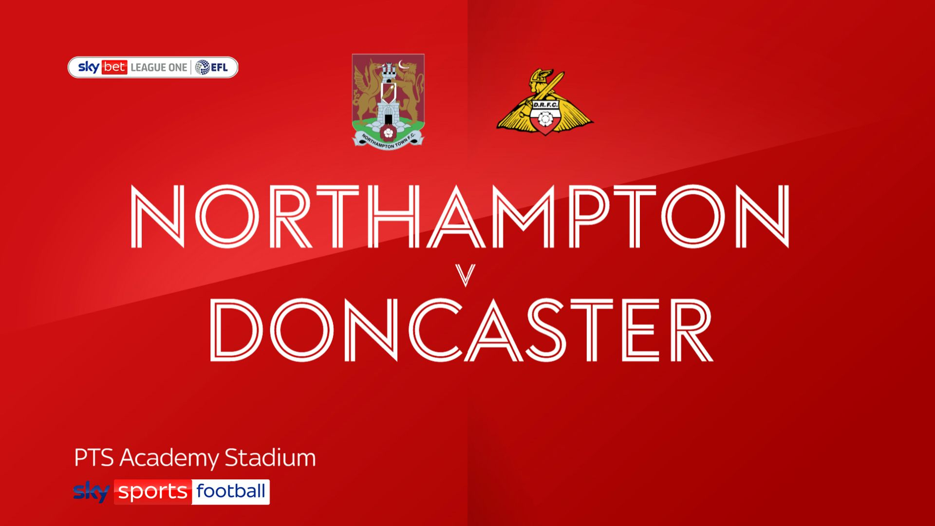 Doncaster sink 10-man Northampton