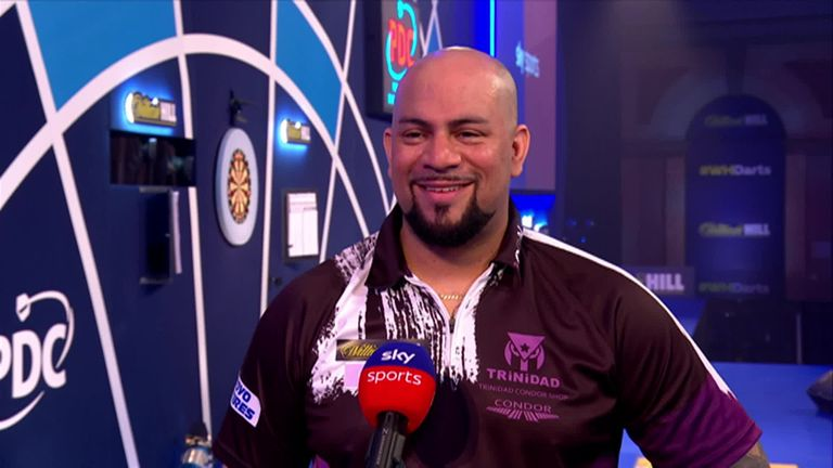 Devon Petersen says it's good news for South African darts to have himself and Cameron Carolissen perform on the same day at the World Darts Championship.