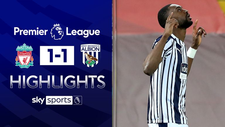 FREE TO WATCH: Highlights from Liverpool's draw with West Brom in the Premier League.