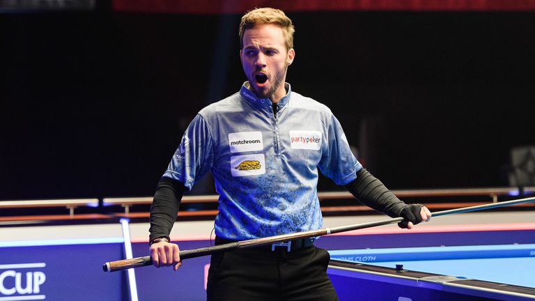 Albin Ouschan has played some inspired pool over the last couple of days