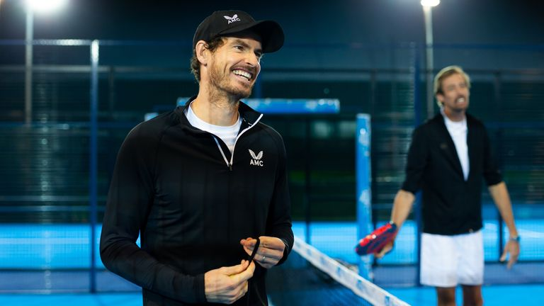 Andy Murray is a big fan of Padel, which has now been officially recognised as a discipline of tennis
